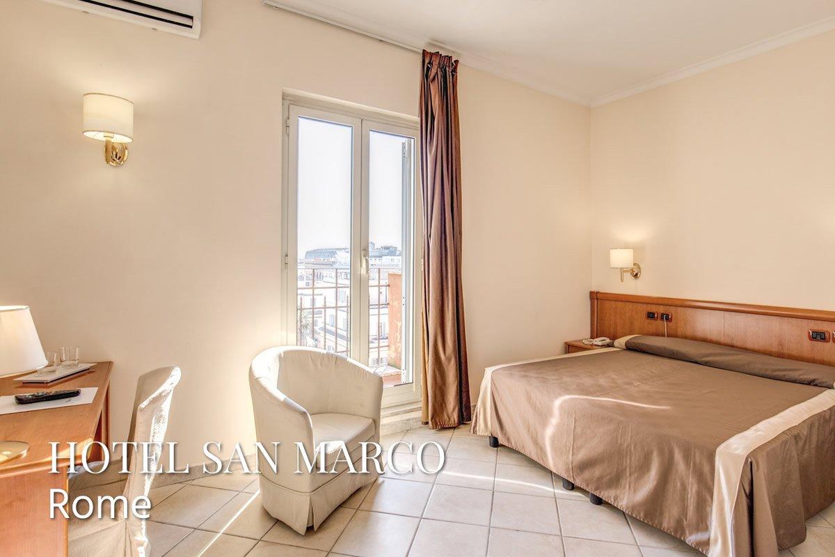 Hotel San Marco Roma Via Villafranca